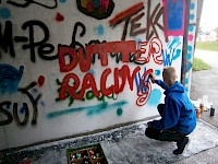 Graffiti mit Today's Youth